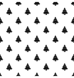 Fir tree pattern simple style vector
