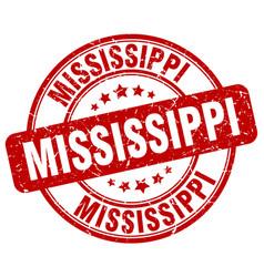 Mississippi stamp vector