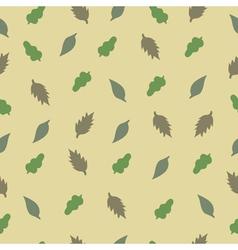 pattern leaf2 vector image vector image