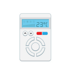 Temperature controller electronic thermostat with vector