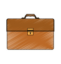 business briefcase accesory vector image