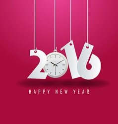 Happy new year 2016 vector