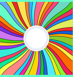 abstract background colorful rays vector image vector image