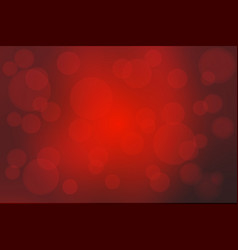 Deep burgundy red abstract with bokeh lights vector
