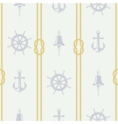 Pattern ship accessories vector