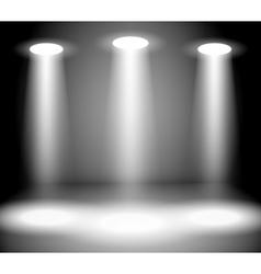 Reflector lights vector