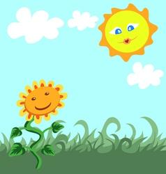 Beautiful summer vector