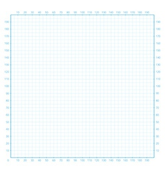 Real size millimeter engineering paper vector