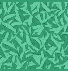 Mint leaves background vector