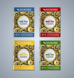 Brochure cover templates vector image vector image