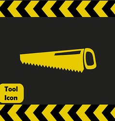 Fretsaw icon vector image vector image