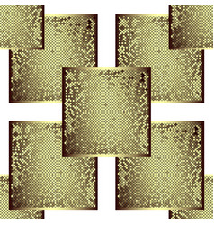Gold in the form of a frame vector
