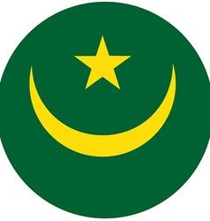 Mauritania flag vector