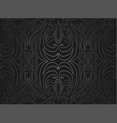 Seamless black and gray vintage texture vector