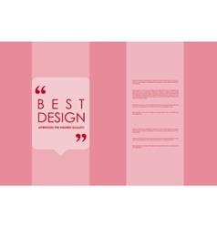 Set of brochure poster design templates in vector image vector image