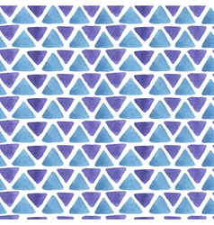 Triangle watercolor pattern vector