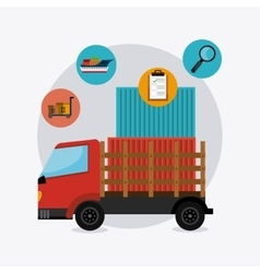 Deliverytransport and logistics business vector