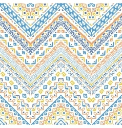african style chevron pattern vector image