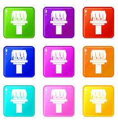 Box magic set 9 vector