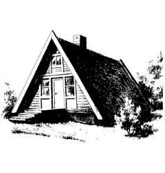 Cabin vector
