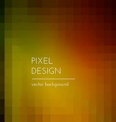 Pixel design vector