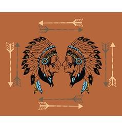 Apaches mascot vector image