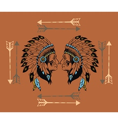 Apaches mascot vector