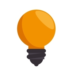 idea bulb creativity icon design vector image