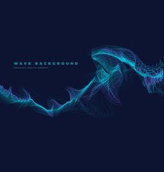 Particle ocean wave vector