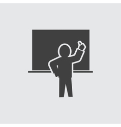 Teacher icon vector