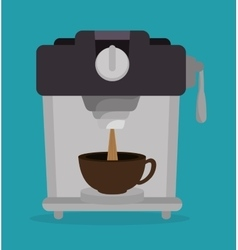 Delicious coffee break design vector