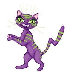 alien kitty vector image