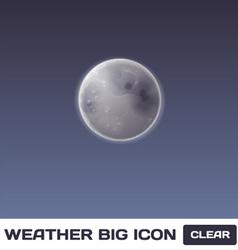 Big Icon vector image