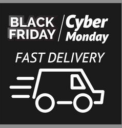Black friday for flyers vector