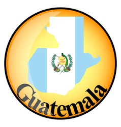 Button guatemala vector