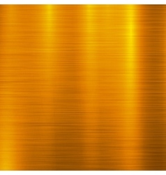 Gold Metal Technology Background vector image vector image
