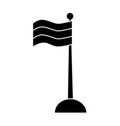 national flag symbol vector image