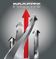 profit2 resize vector image