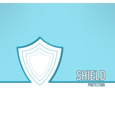 Shield background made in modern clean and vector
