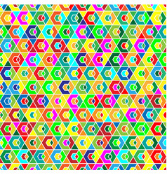 geometric seamless background pattern vector image