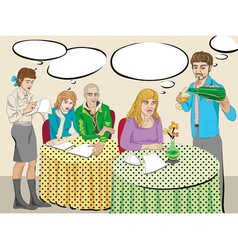 modern people vector image vector image