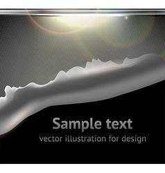 Torn Metal Graphic vector image