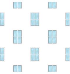 White rectangle window pattern flat vector