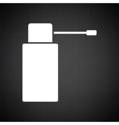 Inhalator icon vector
