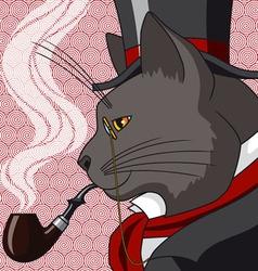 Mister cat vector