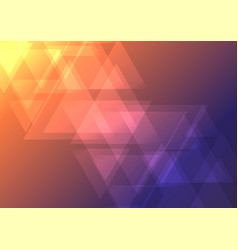 oblique abstract triangle overlap background vector image vector image