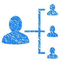 user scheme grunge icon vector image vector image