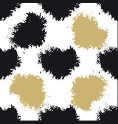Decorative seamless spots pattern vector