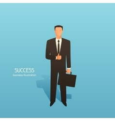 Success business conceptual with vector