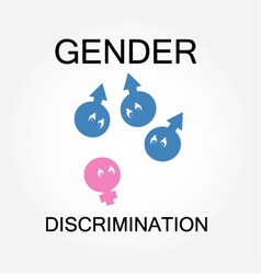 Gender discrimination vector